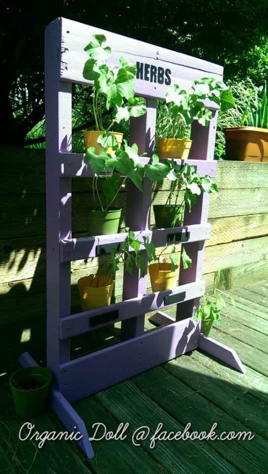 Easy DIY Vertical Pallet Garden Pallet Planters & Compost Bins