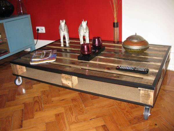 Pallet Center Table Pallet Coffee Tables