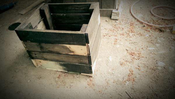 Pallet Planter Box Pallet Planters & Compost Bins