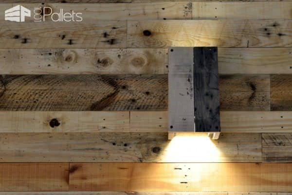 Pallet Wood Self-catering Heaven Pallet Walls & Pallet Doors