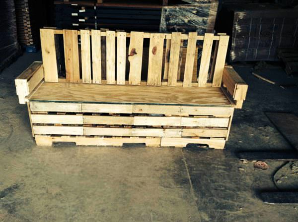 Pallets Bench Pallet Benches, Pallet Chairs & Stools