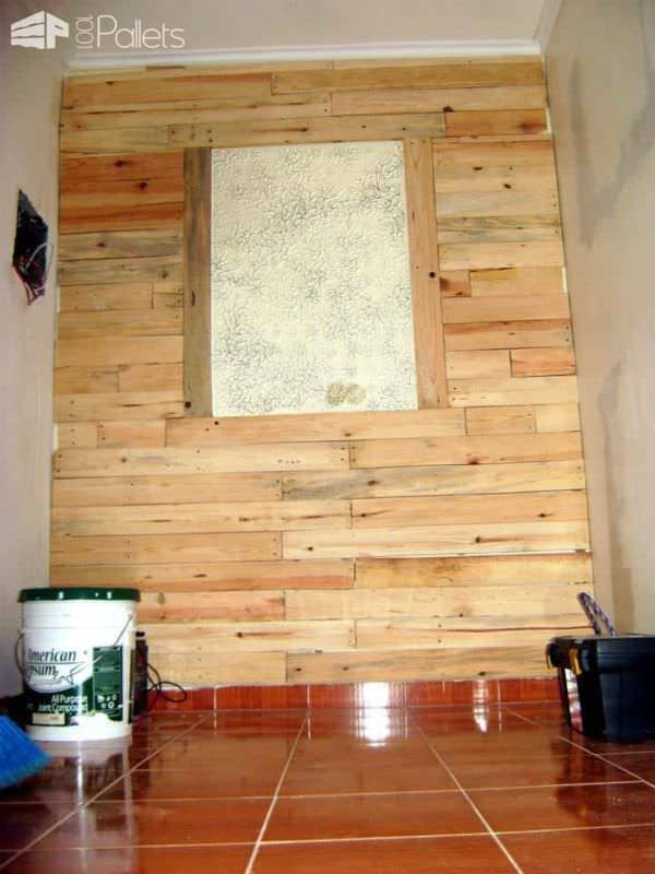 Pallets Wall Decoration Pallet Walls & Pallet Doors