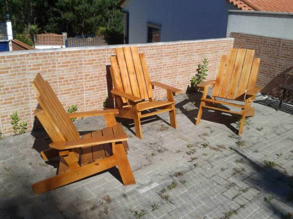 Relax Pallet Chairs Pallet Benches, Pallet Chairs & Stools