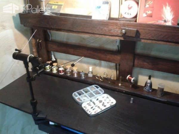 Bureau En Palette / Pallet Folding Desktop Pallet Desks & Pallet Tables