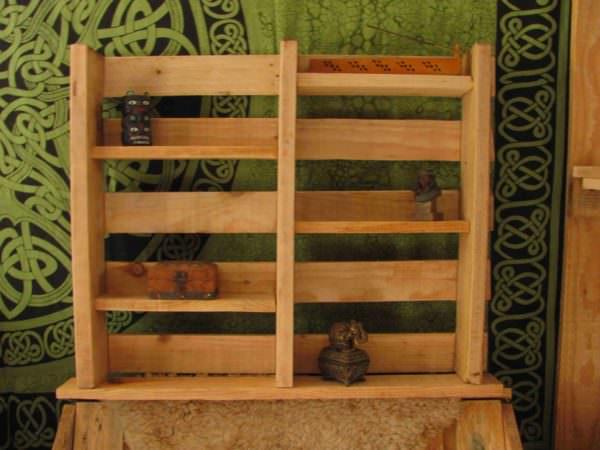 Etagère En Bois De Palette / Pallet Shelves Pallet Shelves & Pallet Coat Hangers