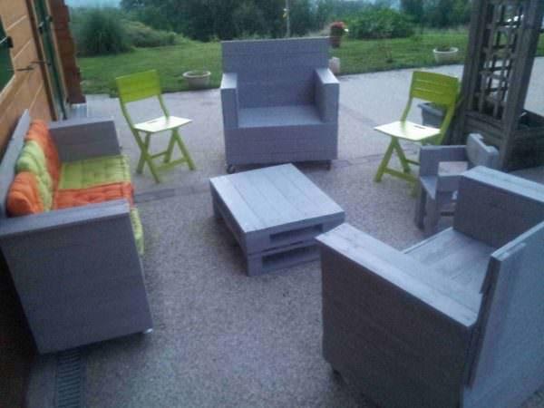 Mon Salon De Jardin Et Son Coffre / My Garden Lounge & His Chest Lounges & Garden Sets