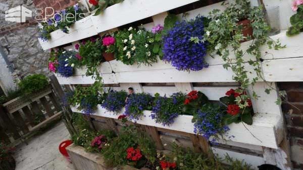 Mur Floral – Le Touquet / Vertical Garden Pallet Planters & Compost Bins