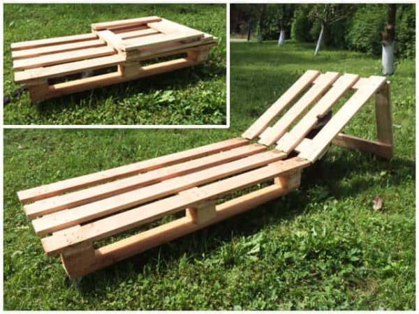 Pallet Sunbed Lounges & Garden Sets Pallet Benches, Pallet Chairs & Stools