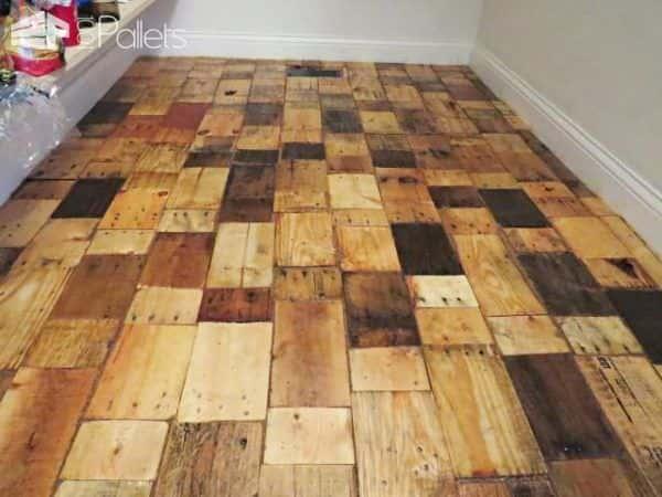 Pallet Wood Floor Redo Pallet Floors & Decks