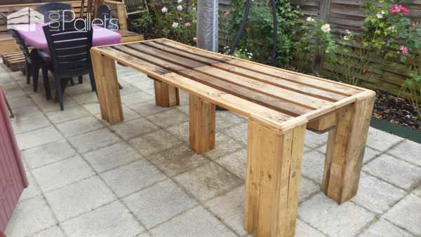 Pallets For Outdoor Projects: Lounge & Table Lounges & Garden Sets