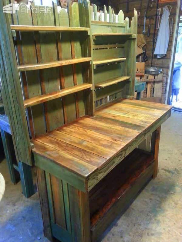 Rustic Pallet Furniture Pallet Desks & Pallet Tables