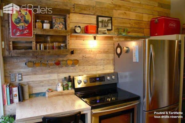Bathroom & Kitchen Pallet Walls Pallet Home Accessories Pallet Walls & Pallet Doors