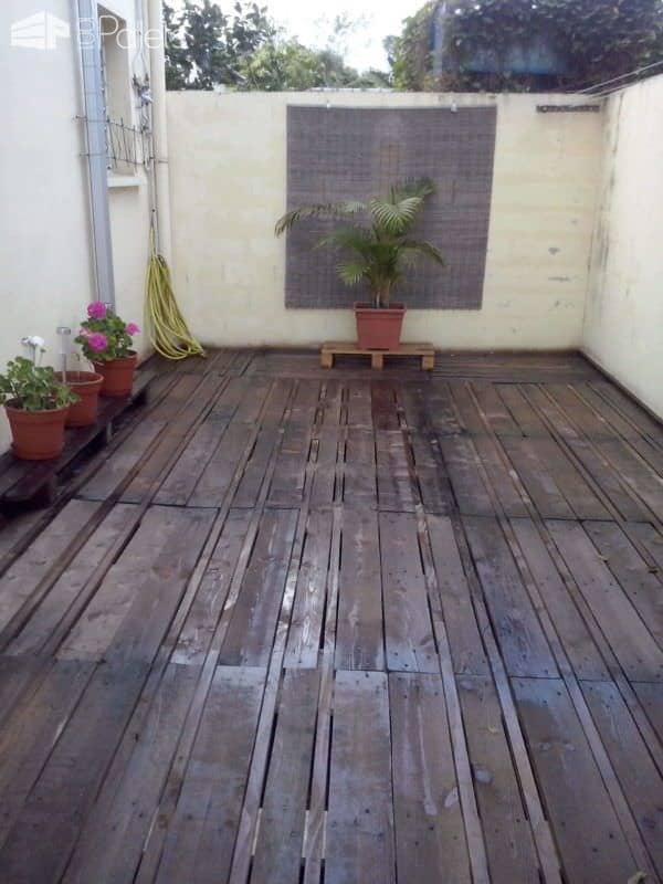 Pallets Terrace Pallet Floors & Decks Pallet Terraces & Pallet Patios