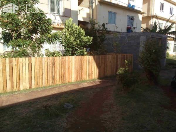 Backyard Pallets Fence Pallet Fences