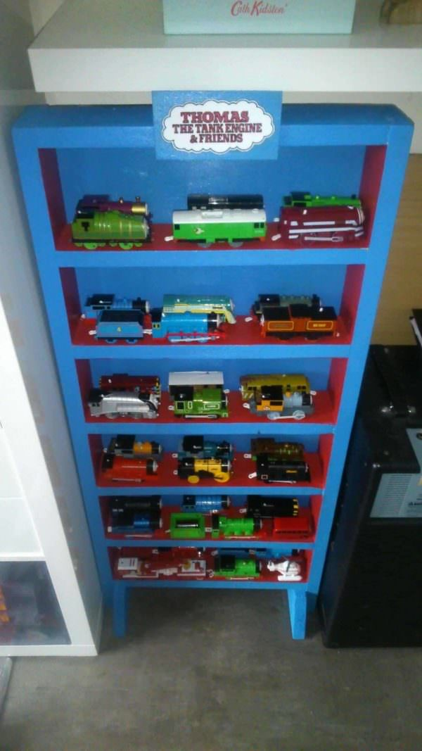 Thomas The Tank Engine Display Cabinet Pallet Cabinets & Wardrobes