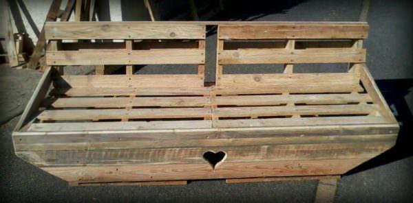 Banc En Palette / Pallet Bench Pallet Benches, Pallet Chairs & Stools