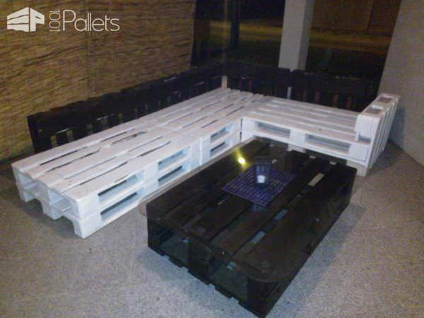 Pallets Terrace Lounge Lounges & Garden Sets