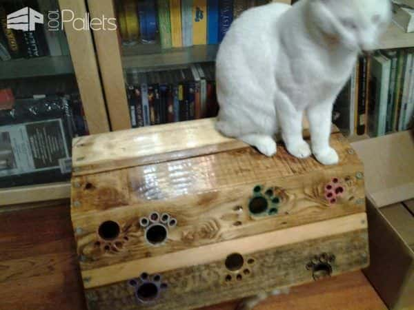 Cat Tree Tunnel Addition Animal Pallet Houses & Pallet Supplies