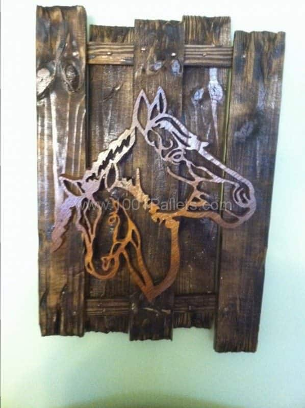 Pallet As Frame Pallet Wall Decor & Pallet Painting
