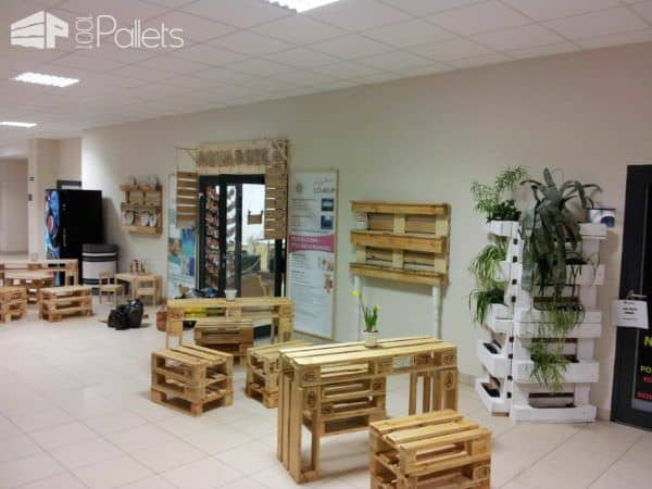 Pallet Creations By Mateusz Kacperski Pallet Benches, Pallet Chairs & Stools Pallet Desks & Pallet Tables