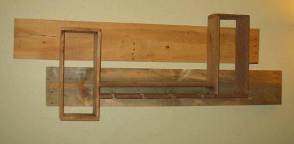 Pallet Wine Rack Pallet Shelves & Pallet Coat Hangers