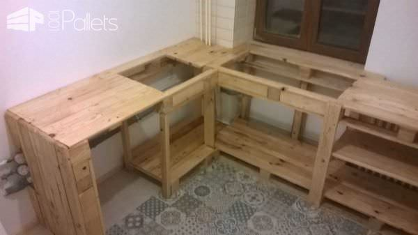 Pallets As Kitchen Furniture Pallet Desks & Pallet Tables