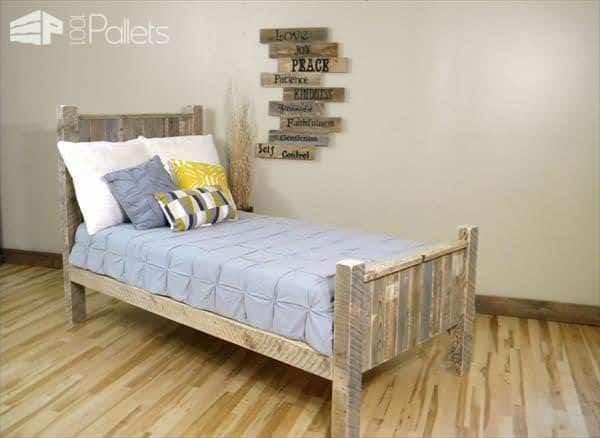 Elegant Pallet Bed Pallet Beds, Pallet Headboards & Frames