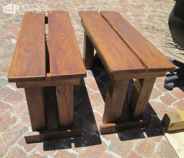 Garden Table, Chairs & Benches From Reclaimed Pallet Wood Pallet Beds, Pallet Headboards & Frames Pallet Desks & Pallet Tables
