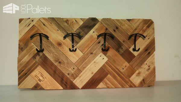Making Coat Racks with Pallet Wood Pallet Shelves & Pallet Coat Hangers