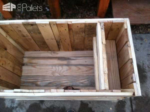 My Kid's Pallet Toys Box Fun Pallet Crafts for Kids Pallet Boxes & Chests