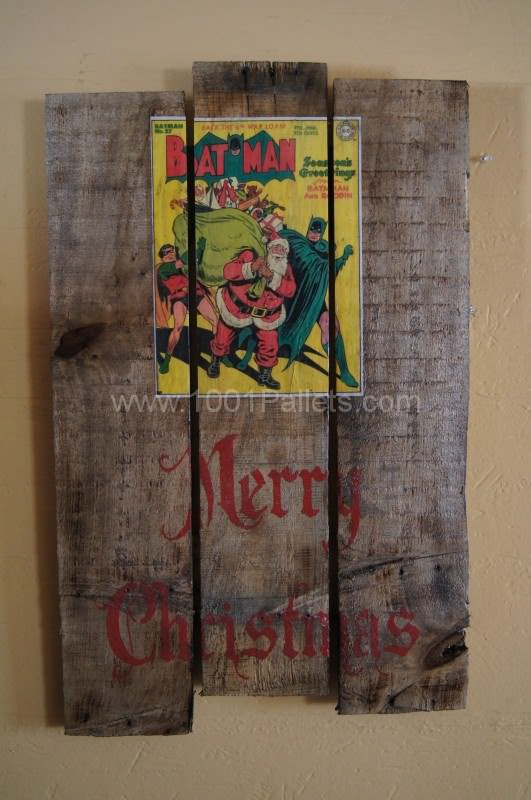 More Christmas Wall Art Pallet Wall Decor & Pallet Painting