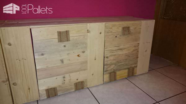 My New Pallet Wardrobe & Coat Rack Pallet Cabinets & Wardrobes