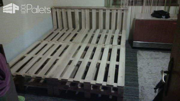 10 Pallets Bed Pallet Beds, Pallet Headboards & Frames
