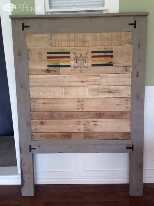 Custom Pallet Bed Headboard Pallet Beds, Pallet Headboards & Frames