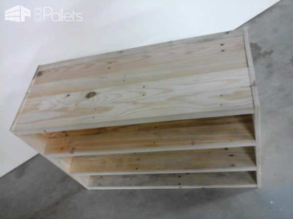 Pallet Shoes Shelf Pallet Shelves & Pallet Coat Hangers