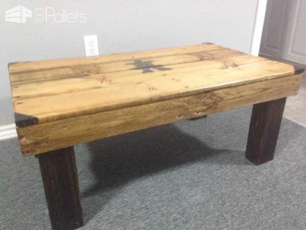 Inukshuk Pallet Coffee Table Pallet Coffee Tables