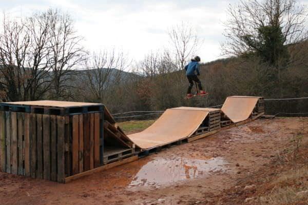 Mini Pallet Skatepark Lounges & Garden Sets