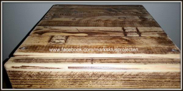Pallet Bedside Table Pallet Desks & Pallet Tables