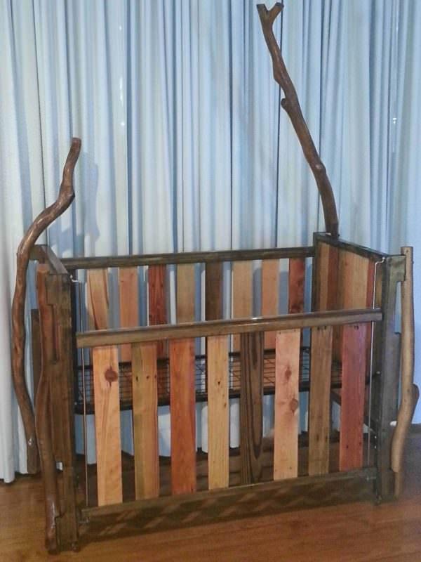 Pallet Crib Fun Pallet Crafts for Kids