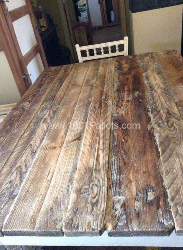 Pallet Table Top Pallet Desks & Pallet Tables