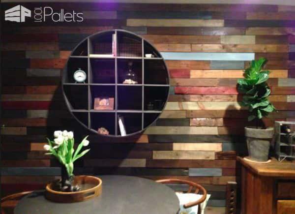 Pallet Wood Wall Pallet Walls & Pallet Doors