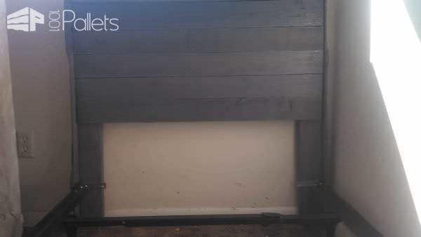 Single Pallet Headboard Project Pallet Beds, Pallet Headboards & Frames