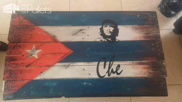 Drapeau En Palettes / Pallet Flags Pallet Wall Decor & Pallet Painting