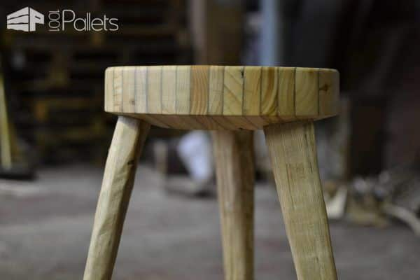 Laminated Pallet Stool Pallet Benches, Pallet Chairs & Stools