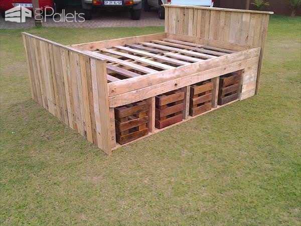 Pallet Bed Frame Pallet Beds, Pallet Headboards & Frames
