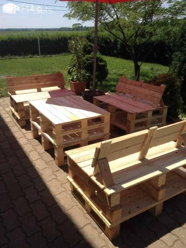 Pallet Garden Furniture Lounges & Garden Sets