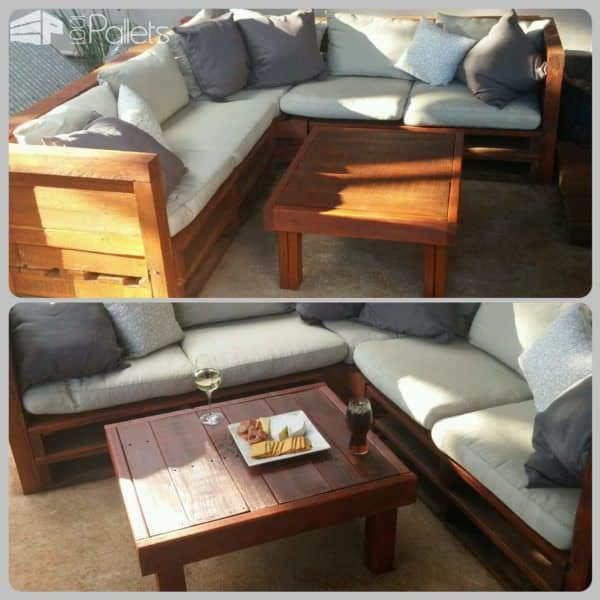 Pallet Outdoor Lounge Lounges & Garden Sets