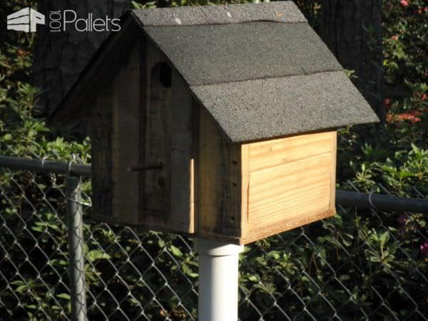 Pallet Upcycled Into Birdhouses Animal Pallet Houses & Pallet Supplies