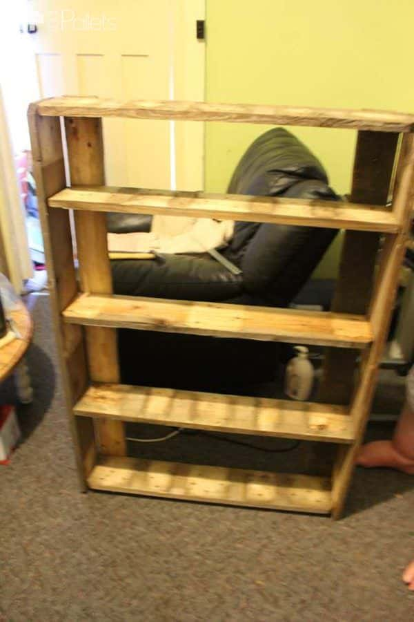 Preserving Shelves Pallet Shelves & Pallet Coat Hangers