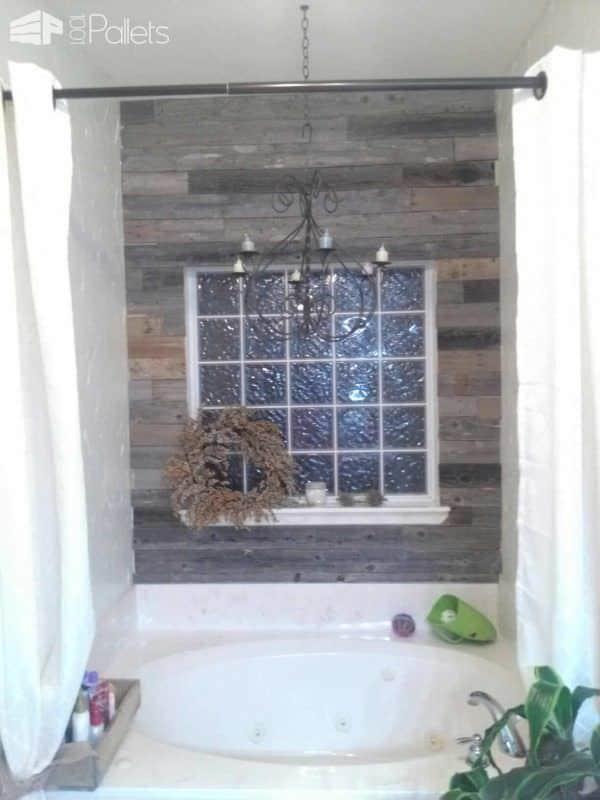 Reclaimed Fence & Pallet Wood Wall Pallet Walls & Pallet Doors